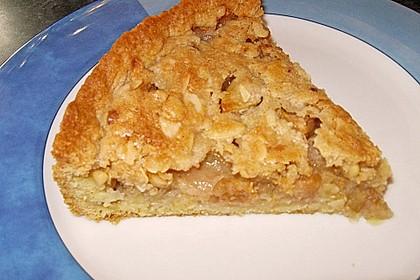 Apfelkuchen mit Mandelguss 80