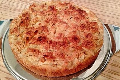 Apfelkuchen mit Mandelguss 55