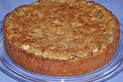 Apfelkuchen mit Mandelguss 30