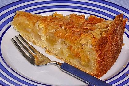 Apfelkuchen mit Mandelguss 12