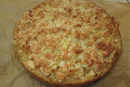 Apfelkuchen mit Mandelguss 45