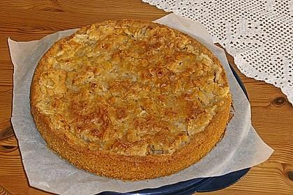 Apfelkuchen mit Mandelguss 33