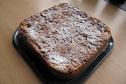 Apfelkuchen mit Mandelguss 40