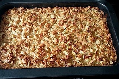 Apfelkuchen mit Mandelguss 43