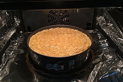 Apfelkuchen mit Mandelguss 63