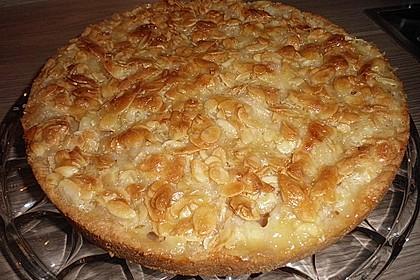 Apfelkuchen mit Mandelguss 39