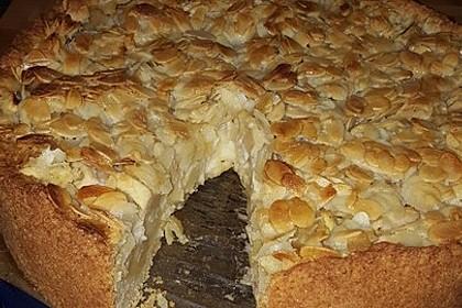 Apfelkuchen mit Mandelguss 36