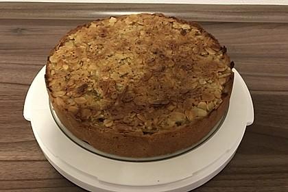Apfelkuchen mit Mandelguss 50