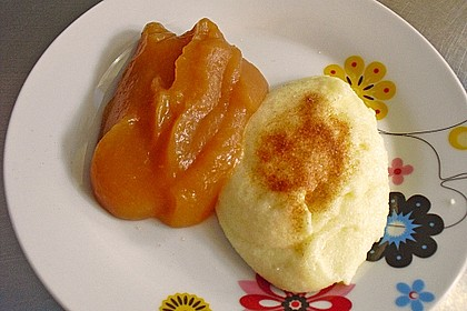 Grießbrei mit Vanille 2