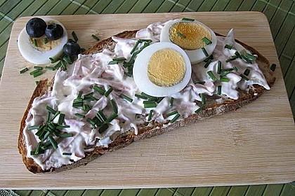 Töginger Fleischsalat, mit selbstgemachter Mayonnaise 2