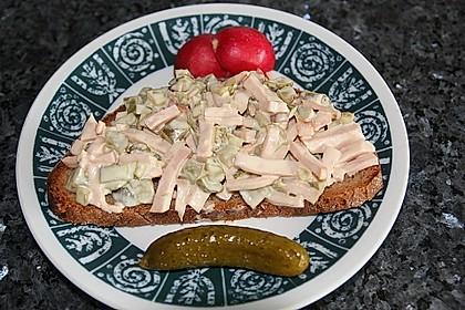 Töginger Fleischsalat, mit selbstgemachter Mayonnaise