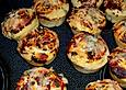 Bratschenfees einfachste Pizzabrötchen in der Muffinform