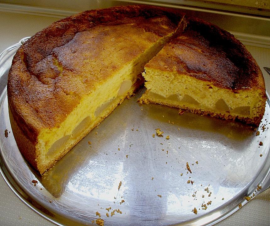 Www Sanella De Rezepte: Birnen Käsekuchen Mit Baiser