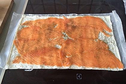 Blätterteig - Lachs - Schnecken 65
