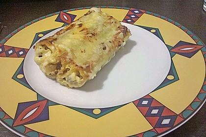 Cannelloni mit Hack - Schafskäse - Füllung 3