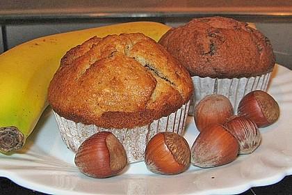 banane nuss muffins rezept mit bild von aphelion81. Black Bedroom Furniture Sets. Home Design Ideas