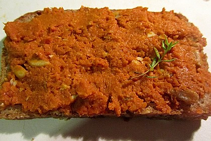 Karotten - Brotaufstrich für den Thermomix 4