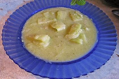 Lauch - Kohlrabi - Suppe 1