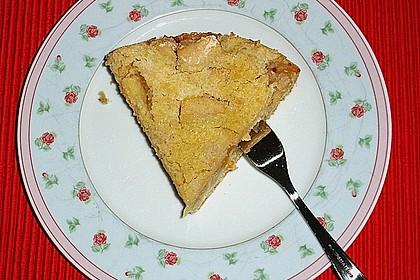 Apfelkuchen mit Rührteig und Streuseln 4