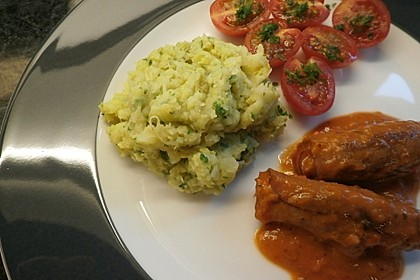 Rosenkohl - Kartoffel - Püree 3