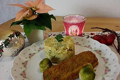Rosenkohl - Kartoffel - Püree 1