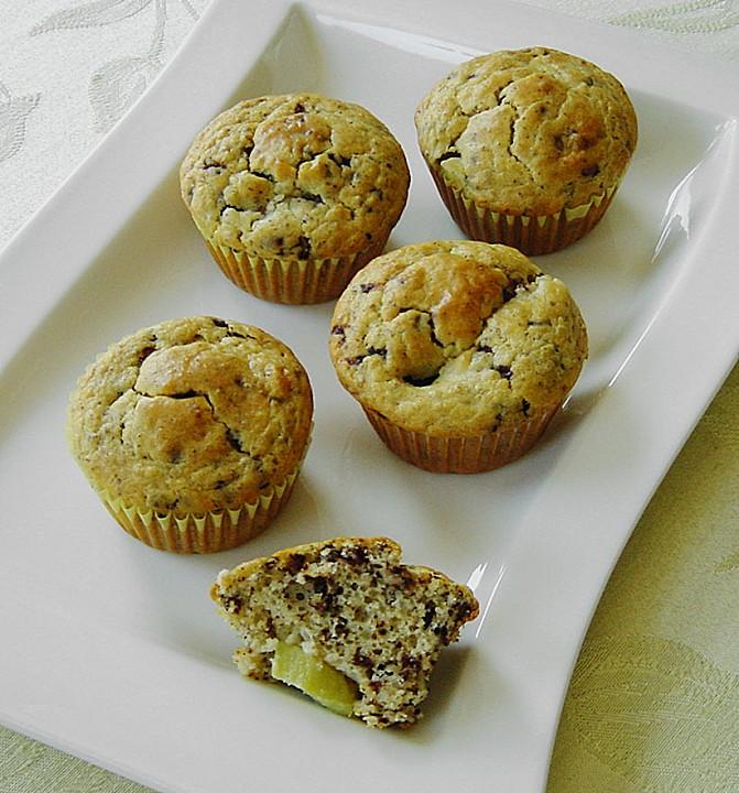 kiwi schoko muffins rezept mit bild von julisan. Black Bedroom Furniture Sets. Home Design Ideas