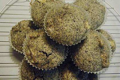 Apfel - Mohn - Muffins 9