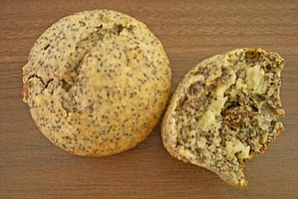 Apfel - Mohn - Muffins 12