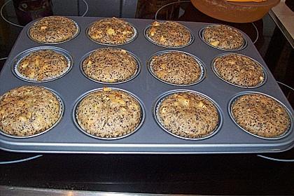 Apfel - Mohn - Muffins 7
