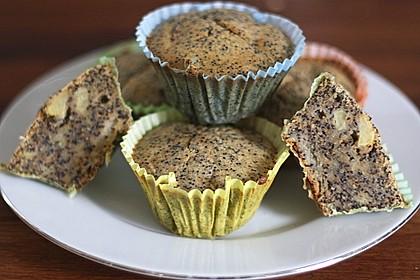Apfel - Mohn - Muffins 6