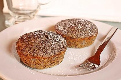 Apfel - Mohn - Muffins