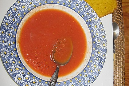 Feurige Apfel - Tomaten - Suppe 5