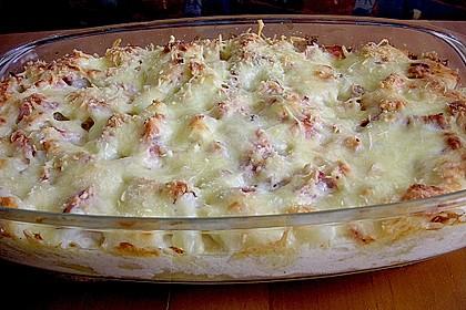 Kartoffelauflauf mit Spargel 5