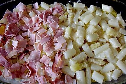 Kartoffelauflauf mit Spargel 2