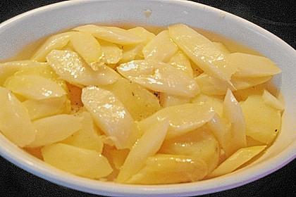 Kartoffelauflauf mit Spargel 9