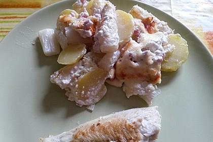 Kartoffelauflauf mit Spargel 11