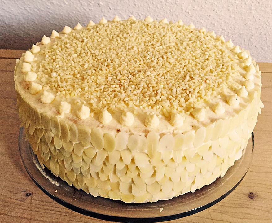 Alte Schlesische Pudding Buttercreme Torte Von Brisane