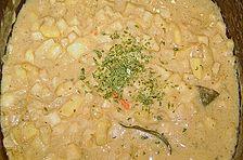 Sellerie - Kartoffelsuppe mit Balsamico