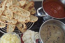 Würzige Brot - Lasagne