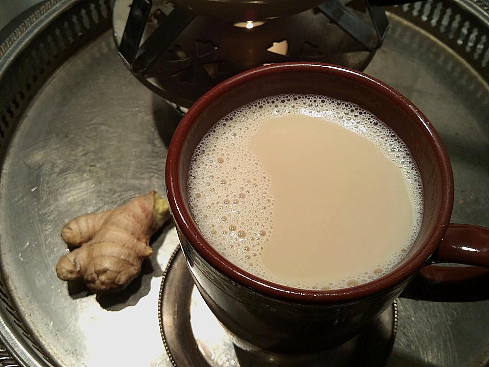 chai tea latte hausgemacht rezept mit bild von pustefixxi. Black Bedroom Furniture Sets. Home Design Ideas