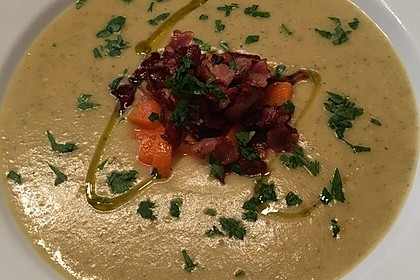 Mickys Kartoffelsuppe mit Champignons 3