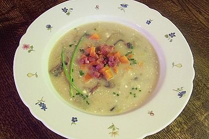 Mickys Kartoffelsuppe mit Champignons 30