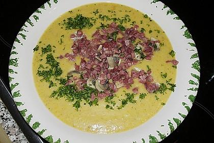 Mickys Kartoffelsuppe mit Champignons 31