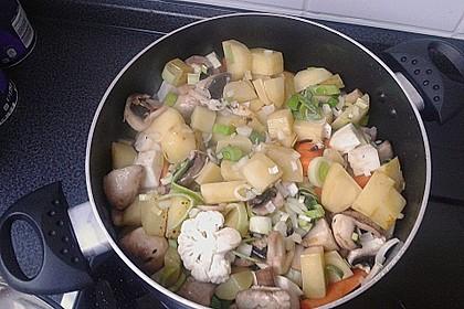 Mickys Kartoffelsuppe mit Champignons 35