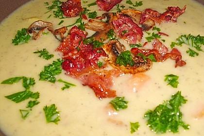 Mickys Kartoffelsuppe mit Champignons 39