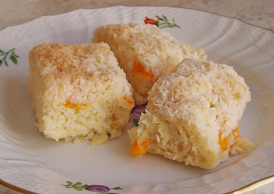 Mandarinen kokos kuchen vegan