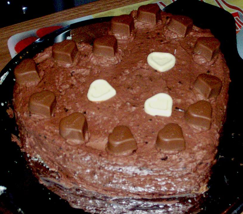 Schnelle Blechkuchen Rezepte Mit Bild: Schnelle Schokoladentorte (Rezept Mit Bild) Von