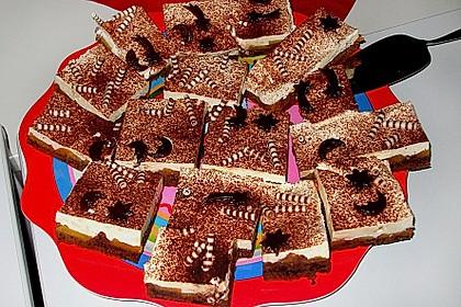Schoko - Aprikosen - Kuchen