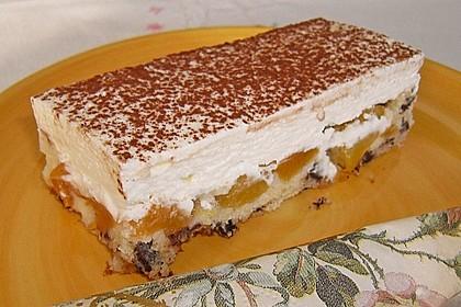 Schoko - Aprikosen - Kuchen 1