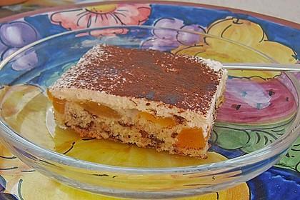 Schoko - Aprikosen - Kuchen 3